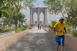 WCS and Partners Win Design Competition to Reimagine the Brooklyn Bridge
