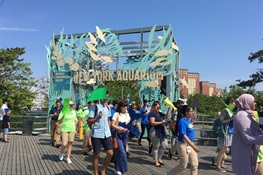 New York Aquarium Celebrates World Oceans Day With a March for the Ocean