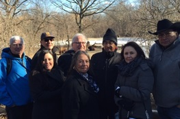 Buffalo People: Delegates of the Blackfeet Nation Visit the Bronx Zoo