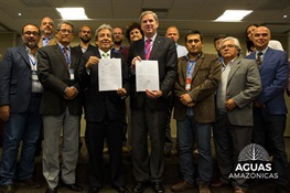 Historic Declaration Signed To Ensure Protection of Amazon Basin