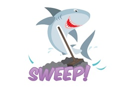 TOTAL SWEEP FOR SHARKS AND RAYS!!!