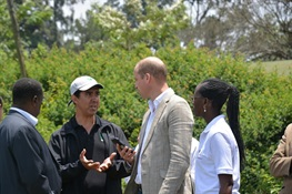 Prince William Visits United for Wildlife Project at the College of African Wildlife Management, Mweka in Tanzania