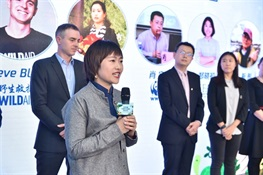 WCS, China Tech Giant Tencent, and other NGOs Team up to Fight Wildlife Crime