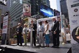 Statement by WCS Executive Vice President for Public Affairs John Calvelli at the Times Square Ivory Crush