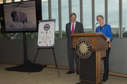 Vote Bison Coalition Hosts Celebration of National Mammal Adoption