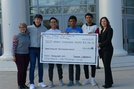 The Student Government Association at Thomas Jefferson High School for Science and Technology  Raises $12,500 for the Wildlife Conservation Society