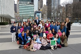 Local School Children Participate in World Wildlife Day At the United Nations with WCS