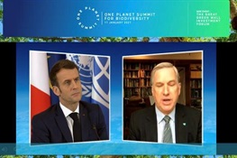 Statement by Cristián Samper, President and CEO, Wildlife Conservation Society, at the One Planet Summit, January 11, 2021 (English, French, Spanish)